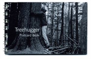 treehugger postcard book cover